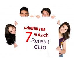 Posiadamy 7 aut do Twojej dyspozycji (Renault CLIO)